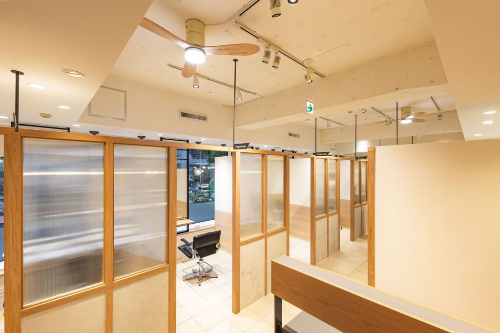 GO TODAY SHAiRE SALON 心斎橋店 / Osaka