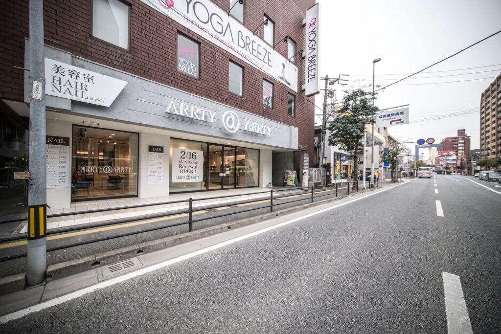 ARRTY ARRTY 薬院店 / Fukuoka