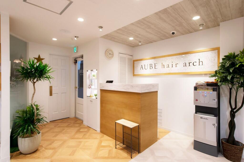 AUBE hair arch / Tokyo