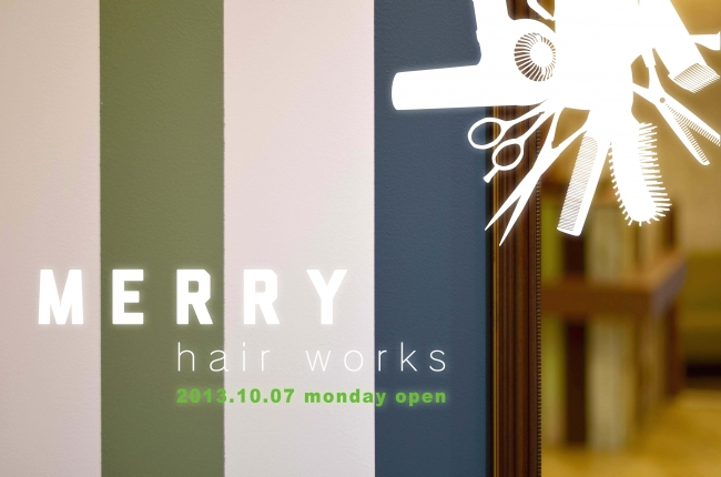 MERRY hair works 10/07 mon OPEN !!
