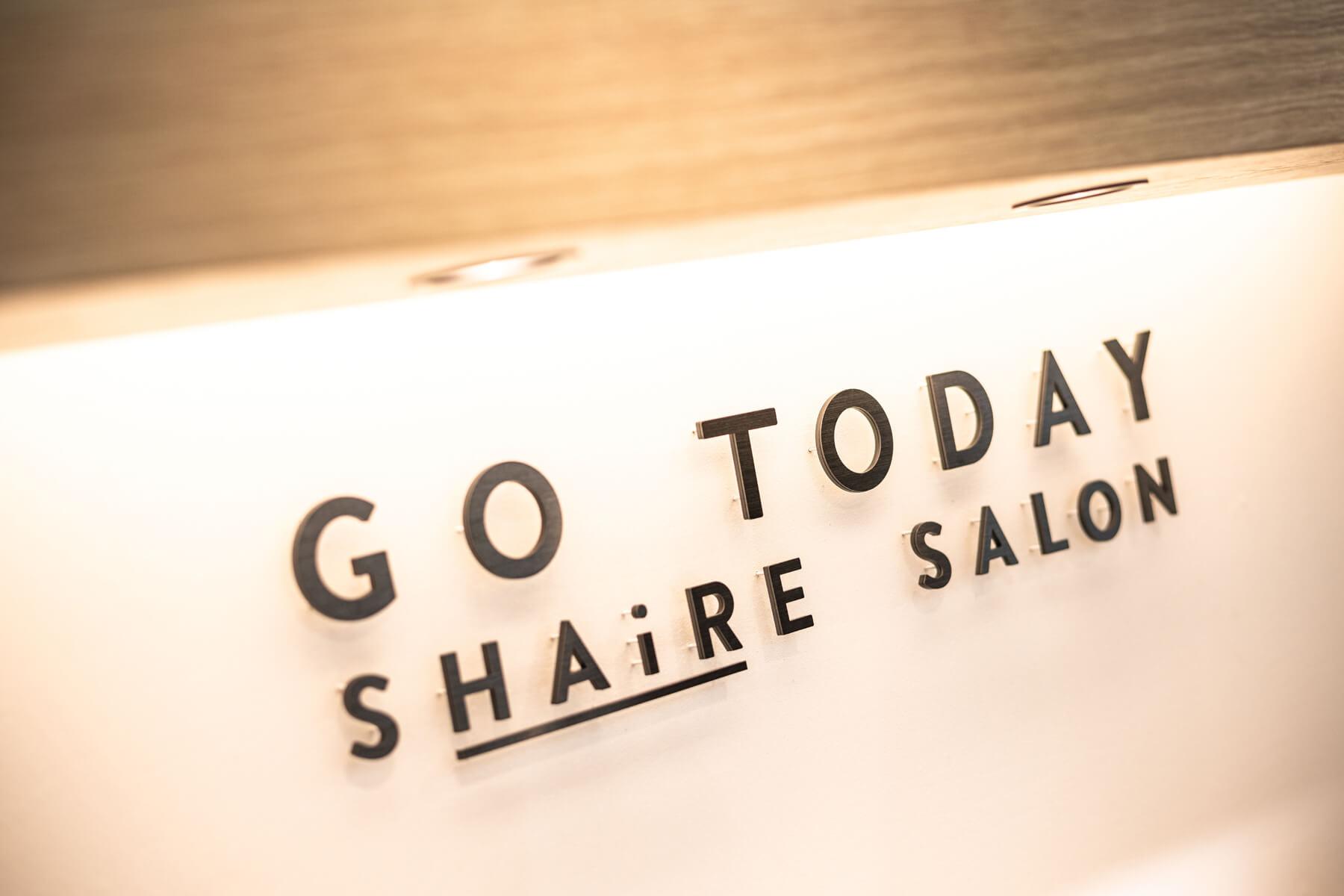 GO TODAY SHAiRE SALON 福岡大名店/Fukuoka